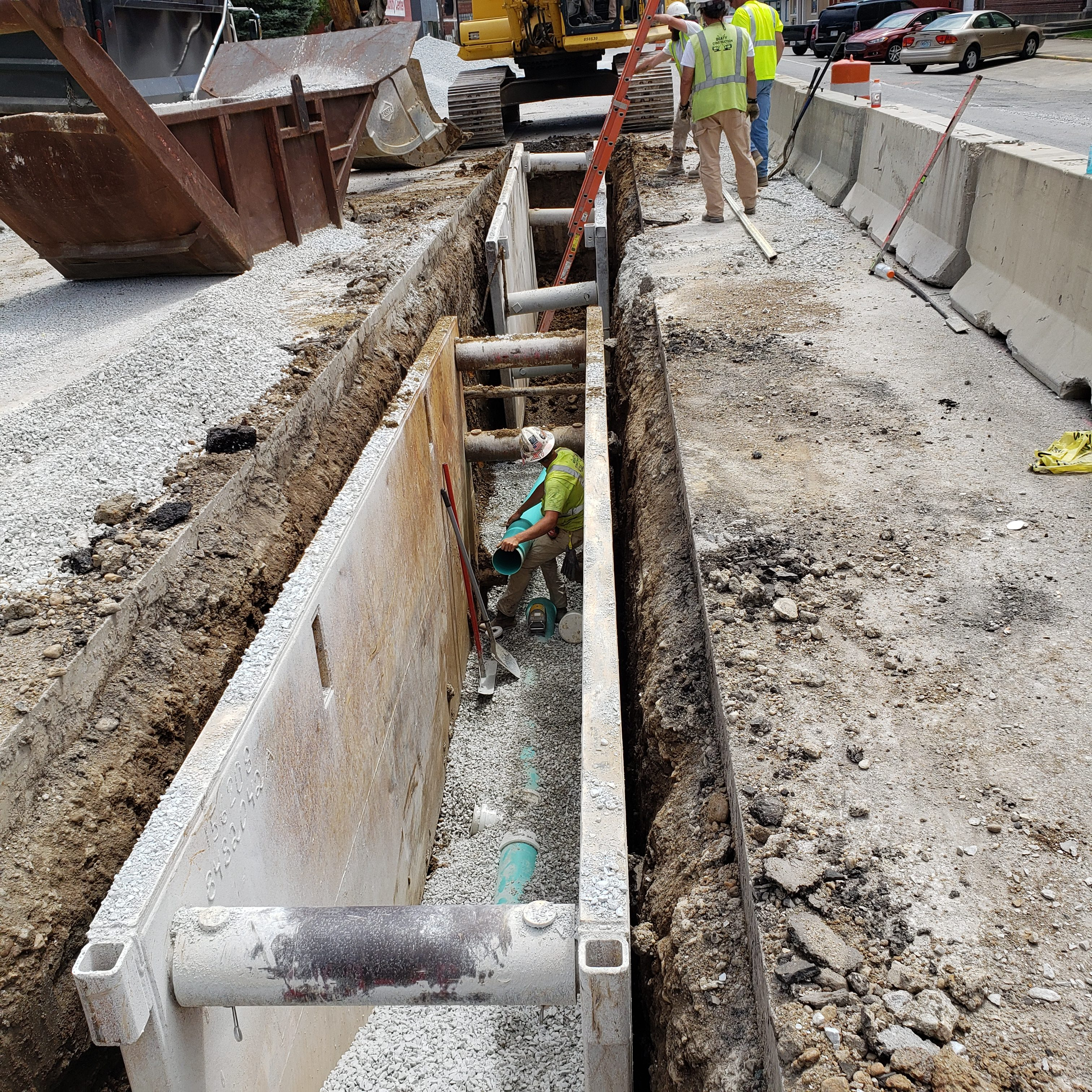 Sanitary Sewer Installation